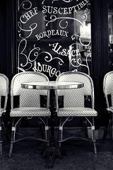 Cafe Terrace Paris / plexiglas
