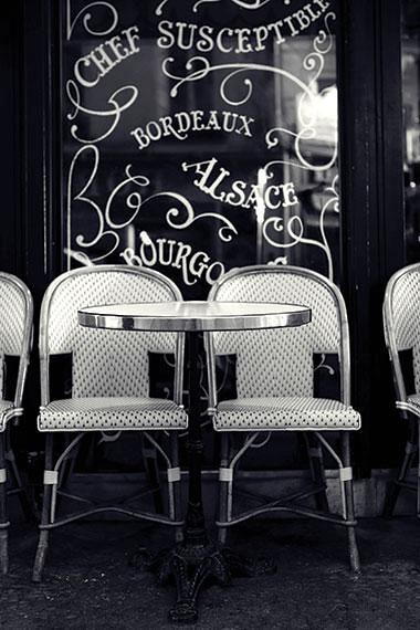 Cafe Terrace Paris