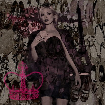 Kate Moss Paris Dark