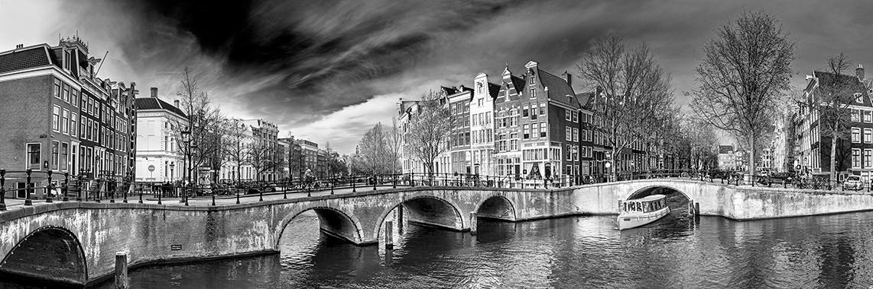 Keizersgracht Amsterdam / Plexiglas