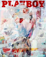 Playboy Dita von Teese / Canvas