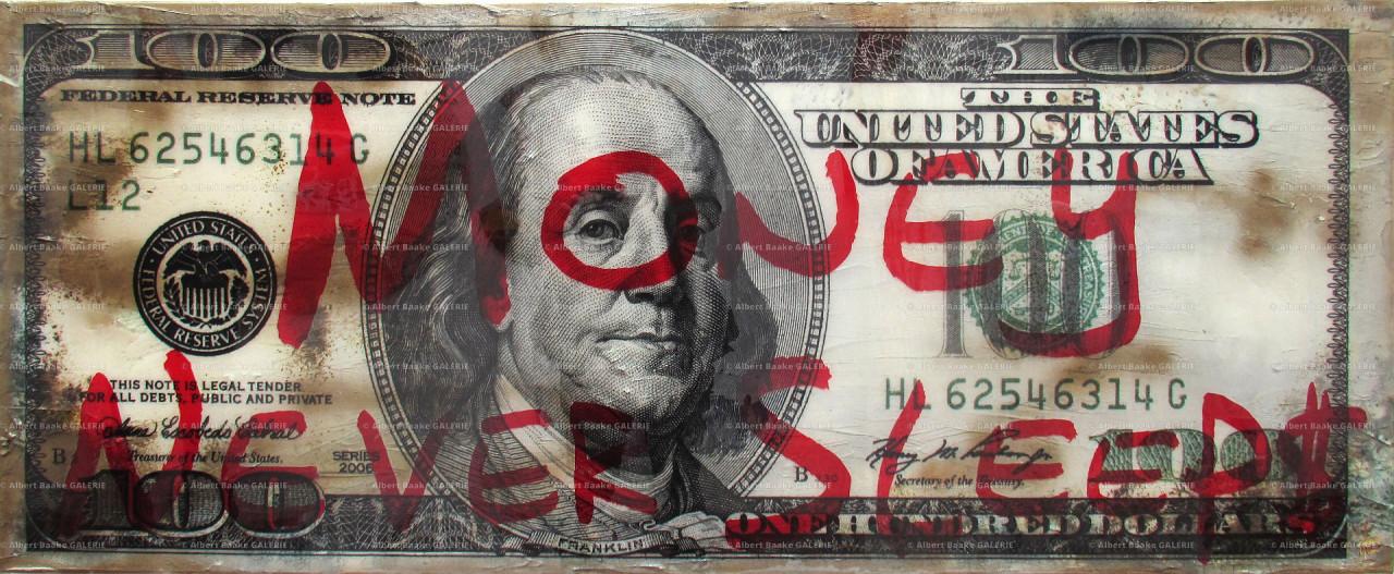 Money never sleeps 100
