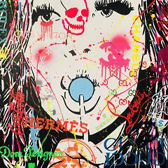 Lollipop / painting on canvas
