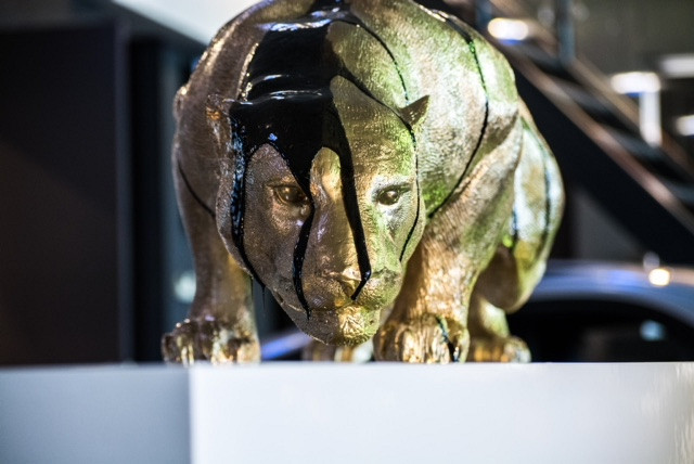 Jaguar / Sculpture / B-art