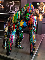 Gorilla / sculpture / B-art