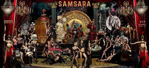 Samsara / plexiglas