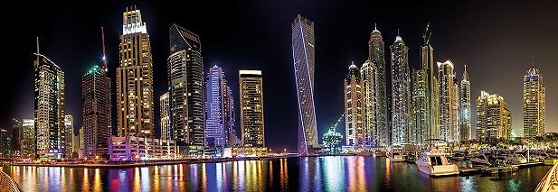 Marina Skyline / plexiglas