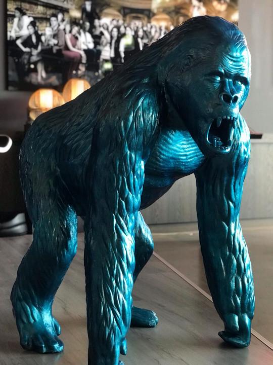 King Kong Metallic / paint & lak on polystone