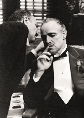 The godfather Whispers / dibond