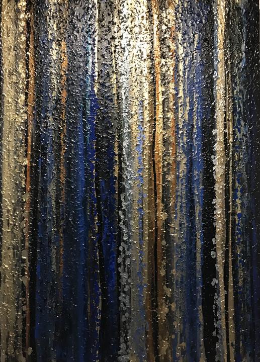 Fantasy element blue / B-art
