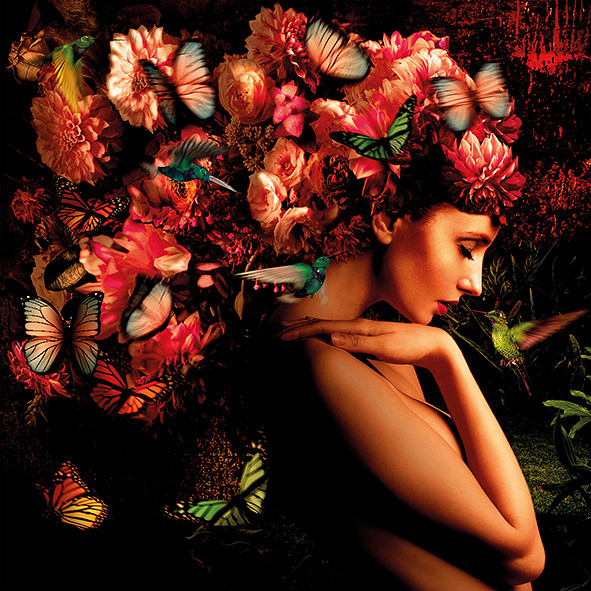 Garden of Eden / foto op plexiglas