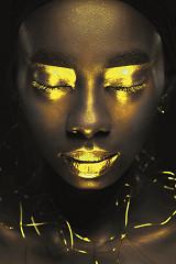 Gold Closure / dibond