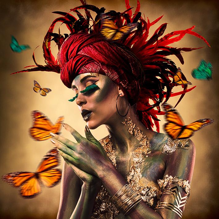 Gypsy / Foto op plexiglas