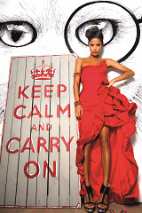 Keep Calm and Carry on / plexiglas