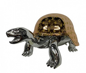 Turtle Gold LV, silver head