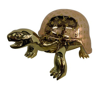 Turtle Gold LV, gold head