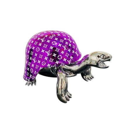 Turtle LV Purple/silver