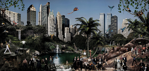 New York Hangout / plexiglas