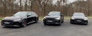 Nieuw uit voorraad leverbaar 2 X RS6 Avant 1 X RSQ3 Sportback