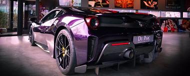 Nieuw Binnen: Ferrari 488 Pista Tailormade
