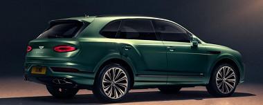 Vernieuwde Bentley Bentayga!