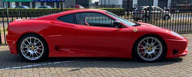 Unieke Ferrari 360 Challenge Stradale te koop!