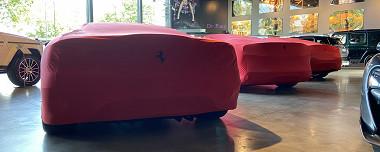 Prachtig aanbod Ferrari's bij Du Parc